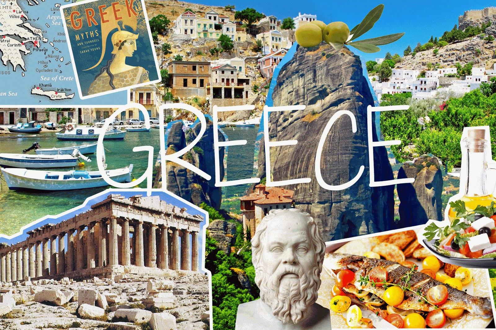 Неделя в Греции!