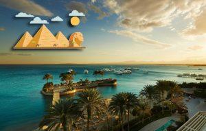 Горит тур в Египет